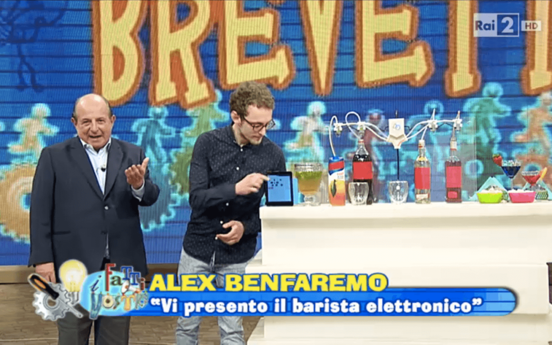 Cocktail Machine su Rai 2